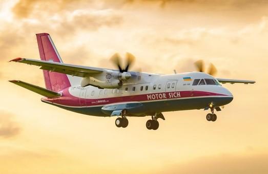 В начале сентября авиакомпания «Мотор Сич» будет реже летать из Одессы в Киев
