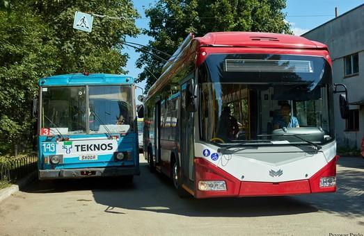 В Ивано-Франковске завтра будут презентовать новый троллейбус БКМ 321