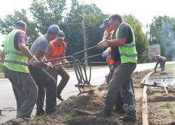 В Каменском продолжают текущий ремонт трамвайной инфраструктуры