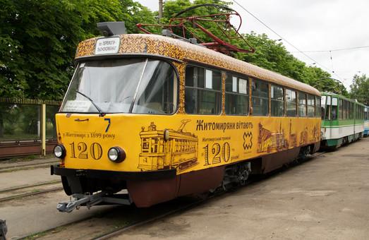 Житомирский трамвай вот уже 120 лет перевозит пассажиров