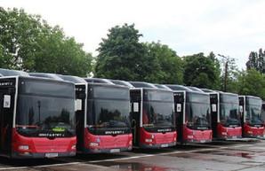 В Одессе на маршрутах в поселок Котовского будет ездить несколько автобусов большого класса