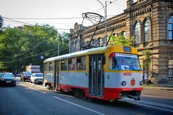 В день Флага Украины в одесском трамвае-галерее открыта новая выставка (ФОТО)
