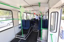 В Хмельницком провели капитально-восстановительный ремонт троллейбуса ЗиУ-682