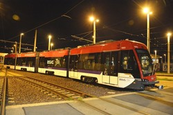 В немецкий город Брауншвейг прибыл первый польский трамвай «Tramino II»