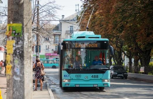 Во время поездок в троллейбусах Чернигова можно будет узнать о достопримечательностях города