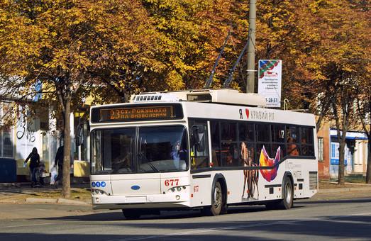 За средства кредита ЕБРР Кривой Рог сможет купить не 50, а 54 троллейбуса