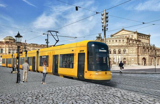 Дрезден покупает 30 новых трамваев «Bombardier»