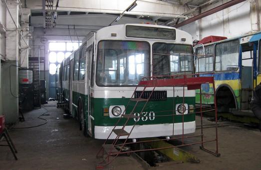 В Кривом Роге выделят 5 миллионов гривен на ремонтные работы в троллейбусном депо № 2