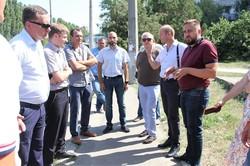 Основные работы по строительству троллейбусной линии в николаевский микрорайон Намыв закончат в ноябре