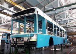 На автозаводе в Луцке показали сборку троллейбусов для Хмельницкого