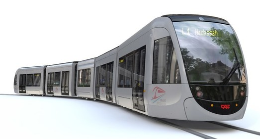 Испанская компания поставит 114 трамваев «CAF Urbos» в Иерусалим