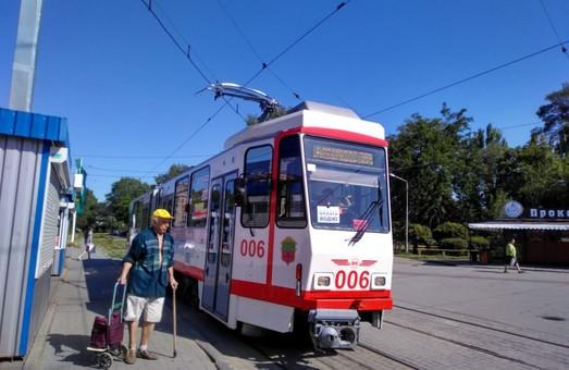 Запорожский горсовет выступил за сохранение трамвайной линии на Павло-Кичкас