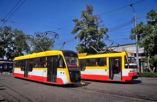 Трамваи Одессы перевозят больше пассажиров, чем весь пассажирский автотранспорт Одесской области