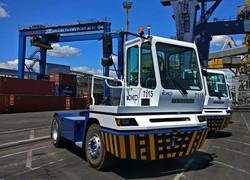 В Одесском порту начали работу голландские тягачи