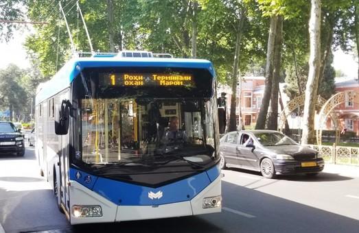 «Белкомунмаш» поставит в столицу Таджикистана 100 троллейбусов