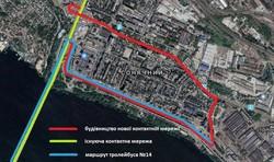В Днепре начали обкатку новой троллейбусной линии в жилой массив Солнечный
