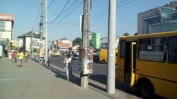 В Тернополе открыли троллейбусную линию к автовокзалу, однако водители маршруток мешают нормальной работе троллейбусов
