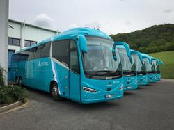 Между Прагой и Теплице начали курсировать новые автобусы «Scania Irizar i6s»