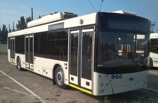 Пять новых троллейбусов с автономным ходом обойдутся Запорожью в более чем 46 миллионов гривен