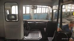 В Херсоне показали маршрутку, отремонтированную силами коммунального АТП