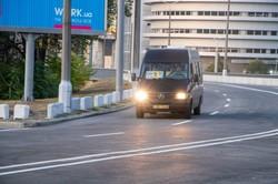В Днепре открыли движение транспорта по Новому мосту