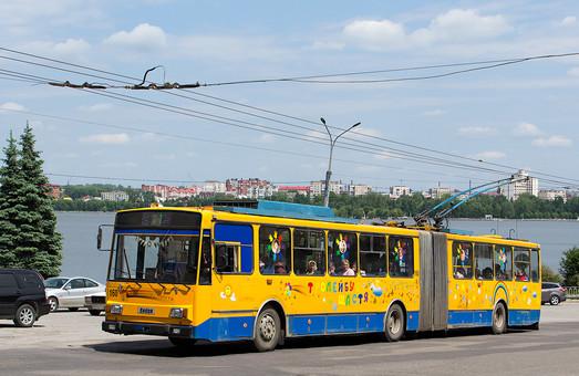 «Тернопольэлектротранс» купил два подержанных троллейбуса