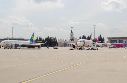 Аэропорт Харькова уже обслужил более 800 тысяч пассажиров