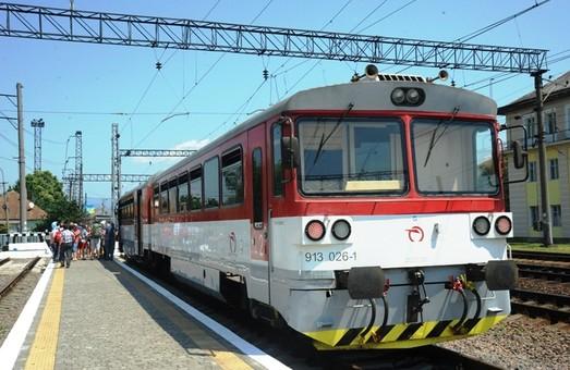 Поездом Мукачево – Кошице воспользовались пассажиры из 39 стран мира