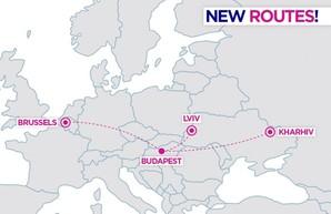 Лоукостер «Wizz Air» запускает два новых авиарейса из Будапешта в Украину
