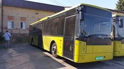 В Днепр приехали автобусы большого класса, которые должны заменить «маломерные» маршрутки