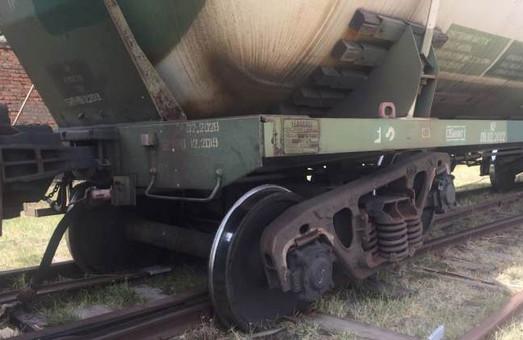 В Измаиле Одесской области с рельсов сошли две цистерны с пропаном
