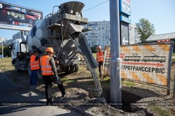 В Харькове строят новую троллейбусную линию