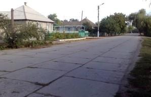 В Килии Одесской области проводят ремонт улицы Победы
