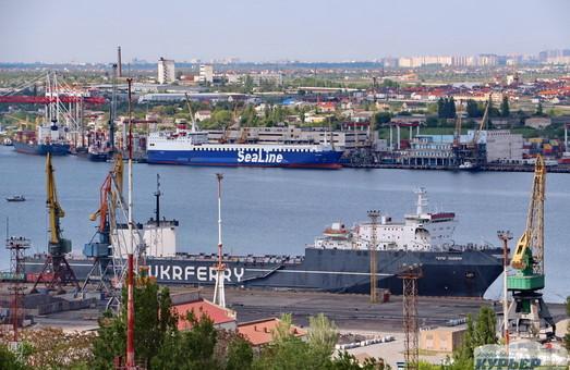 В августе 2019 года порт Черноморск под Одессой нарастил перевалку грузов почти на 40%