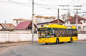 В Киеве на Виноградаре запланировали реконструкцию контактной сети троллейбусов
