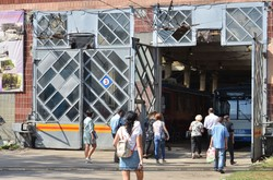 В харьковском троллейбусном депо № 2 провели выездную ярмарку вакансий