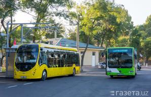 На улицах Ташкента начали испытывать белорусский электробус