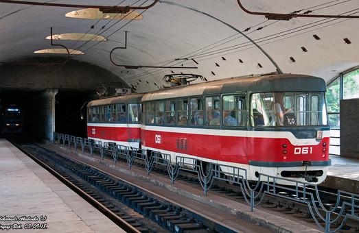 Скоростной трамвай Кривого Рога начал ходить чаще