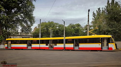 """""""Одиссей-Макс"""": как выглядит первый в Одессе многосекционный трамвай (ФОТО, ВИДЕО)"""