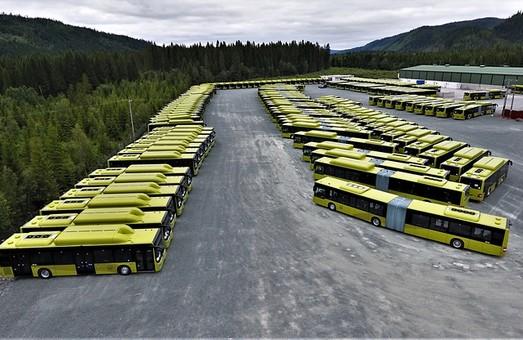 Норвежский Тронхейм обновил свой автобусный парк