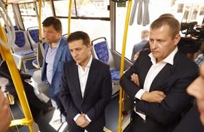В Днепре начал работу новый троллейбусный маршрут № 14 на жилой массив «Солнечный»