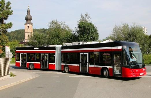 Австрийский город Зальцбург получил первый троллейбус швейцарского производства