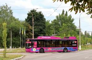 На день города жители Кременчуга будут безплатно ездить в троллейбусах
