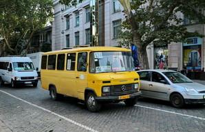 По улицам Одессы ездит самая старая маршрутка (ФОТО)