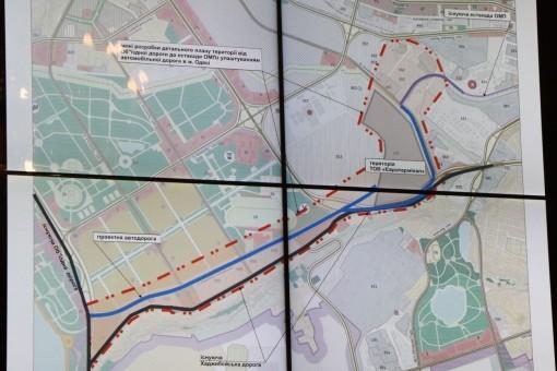 Для въезда на территорию Одесского морского порта построят две дороги