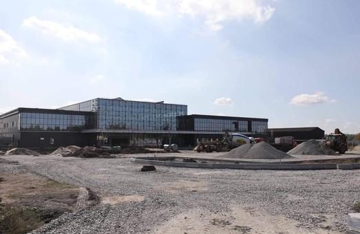 В Запорожье показали, как идет реконструкция аэропорта