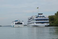 В Вилково на юге Одесской области побывало три круизных лайнера