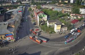 Киевский скоростной трамвай на Борщаговку начнет ходить до Старовокзальной уже в октябре