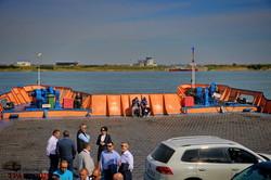 На переправе Орловка - Исакча начались испытательные рейсы паромов (ФОТО)