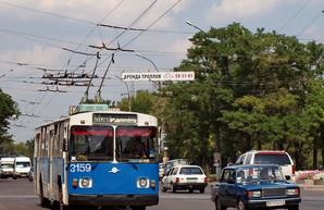 В троллейбусах Николаева считают пассажиров
